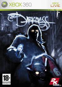 Portada oficial de The Darkness para Xbox 360