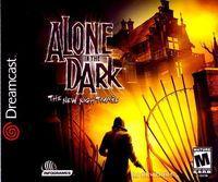 Portada oficial de Alone in the Dark 4 para Dreamcast