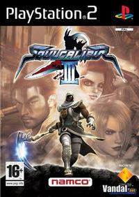 Portada oficial de Soul Calibur 3 para PS2