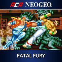 Portada oficial de NeoGeo Fatal Fury para PS4