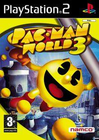 Portada oficial de Pac-Man World 3 para PS2