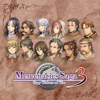 Portada oficial de Mercenaries Saga 3 eShop para Nintendo 3DS
