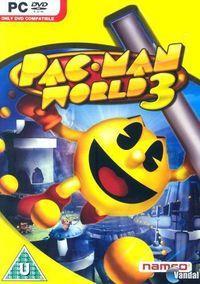 Portada oficial de Pac-Man World 3 para PC