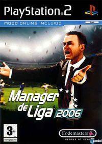 Portada oficial de Manager de Liga 2006 para PS2
