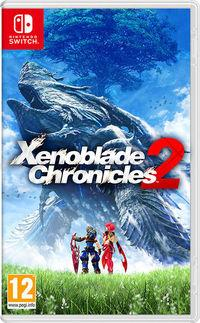 Portada oficial de Xenoblade Chronicles 2 para Switch