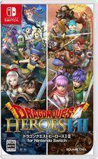 Portada oficial de de Dragon Quest Heroes I & II para Switch