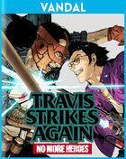 Portada oficial de de Travis Strikes Again: No More Heroes para Switch