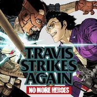 Portada oficial de Travis Strikes Again: No More Heroes para Switch