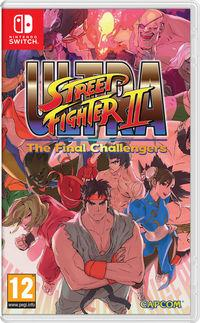 Portada oficial de Ultra Street Fighter II: The Final Challengers para Switch