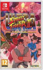 Portada oficial de de Ultra Street Fighter II: The Final Challengers para Switch