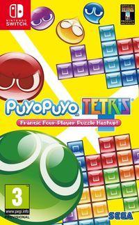Portada oficial de Puyo Puyo Tetris para Switch