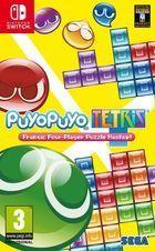 Portada oficial de de Puyo Puyo Tetris para Switch
