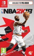 Portada oficial de de NBA 2K18 para Switch