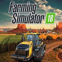 Portada oficial de Farming Simulator 18 para PSVITA