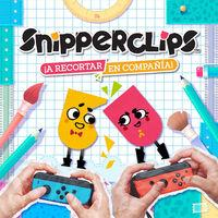 Portada oficial de Snipperclips - ¡A recortar en compañía! para Switch