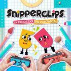 Portada oficial de de Snipperclips - ¡A recortar en compañía! para Switch
