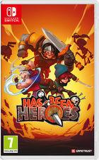 Portada oficial de de Has-Been Heroes para Switch