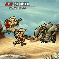 Portada oficial de NeoGeo Metal Slug 3 para Switch