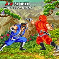 Portada oficial de NeoGeo World Heroes Perfect para Switch
