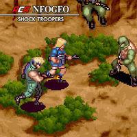 Portada oficial de NeoGeo Shock Troopers para Switch