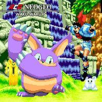 Portada oficial de NeoGeo Waku Waku 7 para Switch