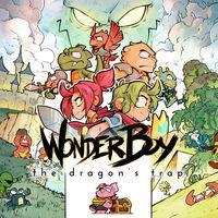 Portada oficial de Wonder Boy: The Dragon's Trap para Switch