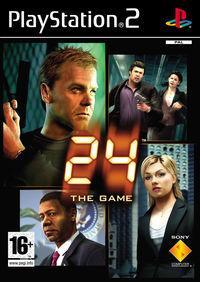 Portada oficial de 24: El Juego para PS2