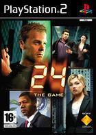 Portada oficial de de 24: El Juego para PS2