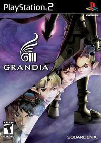 Portada oficial de Grandia 3 para PS2