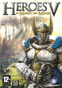 Portada oficial de Heroes of Might & Magic 5 para PC