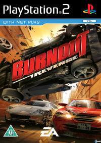 Portada oficial de Burnout Revenge para PS2