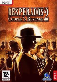 Portada oficial de Desperados 2: Cooper's Revenge para PC