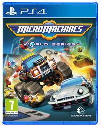 Portada oficial de Micro Machines World Series para PS4