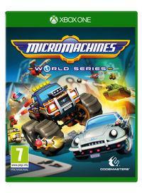 Portada oficial de Micro Machines World Series para Xbox One