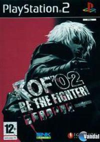 Portada oficial de King of Fighters 2002 para PS2