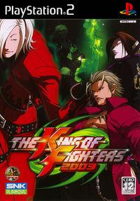 Portada oficial de King of Fighters 2003 para PS2