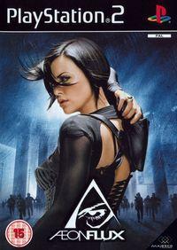 Portada oficial de Aeon Flux para PS2