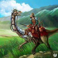 Portada oficial de The Ark of Craft: Dinosaurs para Android