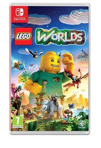 Portada oficial de LEGO Worlds para Switch