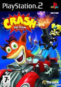 Portada oficial de Crash Tag Team Racing para PS2