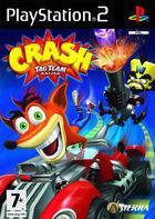 Portada oficial de de Crash Tag Team Racing para PS2