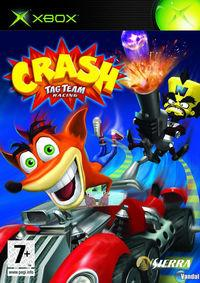 Portada oficial de Crash Tag Team Racing para Xbox