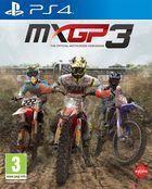 Portada oficial de de MXGP3 - The Official Motocross Videogame para PS4