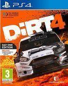 Portada oficial de de DiRT 4 para PS4