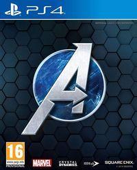 Portada oficial de Marvel's Avengers para PS4