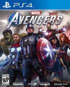 Portada oficial de de Marvel's Avengers para PS4