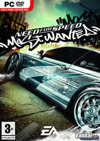 Portada oficial de Need for Speed Most Wanted para PC