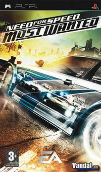 Portada oficial de Need for Speed Most Wanted 5-1-0 para PSP