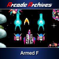 Portada oficial de Arcade Archives Armed F para PS4