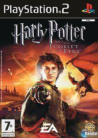 Portada oficial de Harry Potter and the Goblet of Fire para PS2